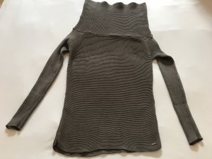 Armani Turtleneck Sweater grey-grey brown