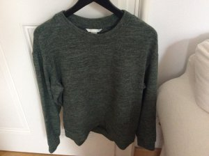 Weicher tannengrüner Pullover von H&M