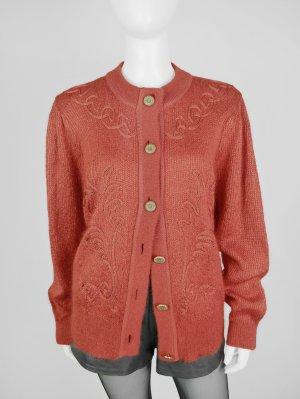 Lucia Knitted Cardigan orange mixture fibre