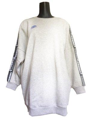 Umbro Vestido tipo jersey gris claro Algodón
