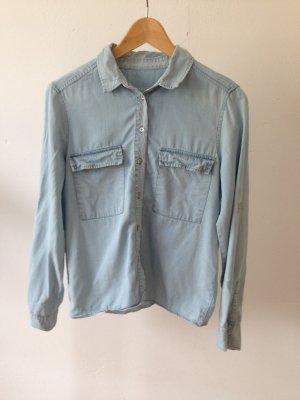 Weiches jeanshemd von Zara