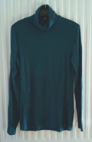 H&M Turtleneck Shirt petrol-dark green