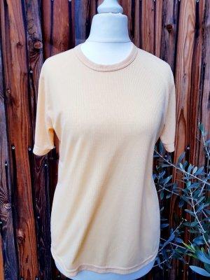Weiches Shirt top Qualität Gr. S 36 sanftes nude orange neu