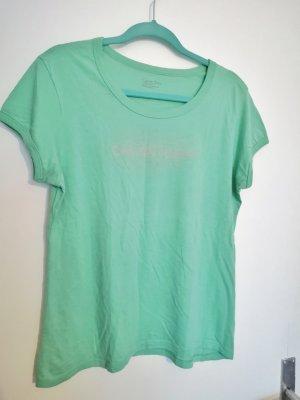 Calvin Klein Camiseta verde pálido
