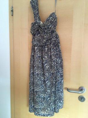 Weiches Sommer One shoulder Kleid