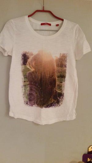 weiches sommerliches T-Shirt von s.Oliver