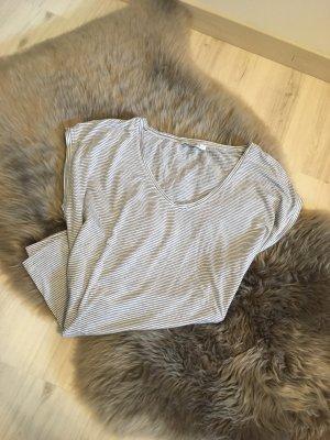 Pieces T-shirt rayé blanc-noir viscose