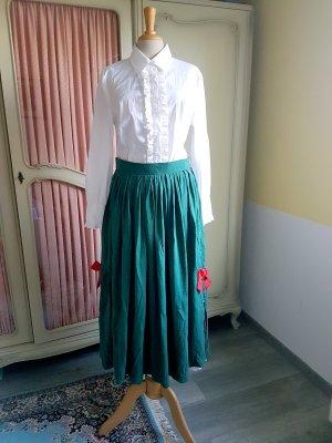 Alba Moda Silk Skirt multicolored silk