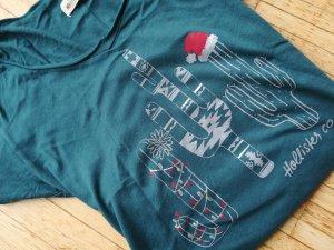 weihnachtliches Hollister Shirt