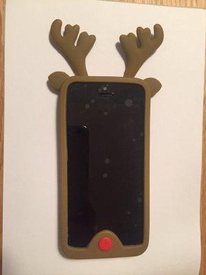 Carcasa para teléfono móvil marrón