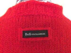 Weihnachts-roter Pullover von D&G