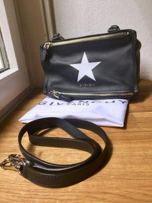 Givenchy Crossbody bag black-white leather