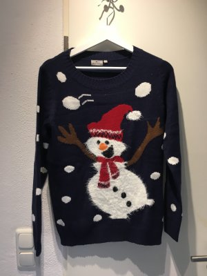 Christmasjumper red-dark blue