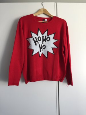 H&M Divided Christmasjumper multicolored
