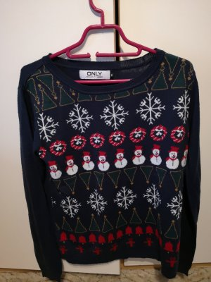 Only Christmasjumper dark blue