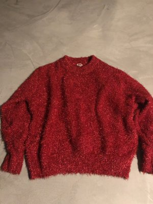 H&M Christmasjumper brick red-red