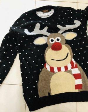 Weihnachtspullover M