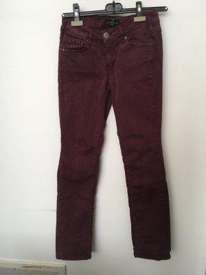 Weinrote (Aubergine) Jeans der Marke Cimarron