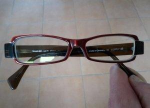 Weinrote Brille von Colibris