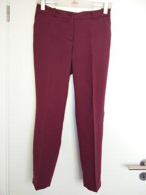 H&M Pantalone a pieghe bordeaux