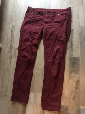 Weinrote Jeans 44