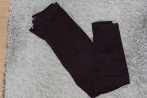 Bershka Drainpipe Trousers multicolored