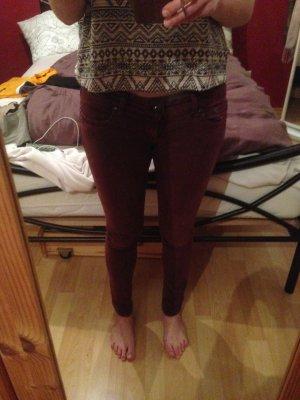 Weinrote Jeans von Brandy & Melville