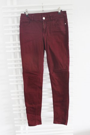 Weinrote Jeans von Hallhuber Größe 36