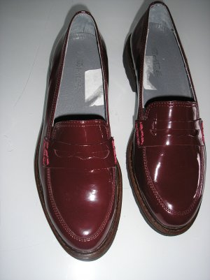 Rohde Mocassins bordeau