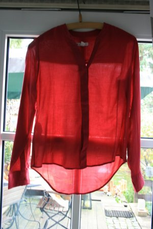 weinrote Mangobluse Gr. XS