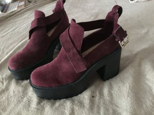 Pull & Bear Plateauzool pumps bordeaux