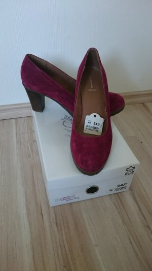 weinrote Pumps von 5th Avenue by Halle Berry in Größe 40, NEU