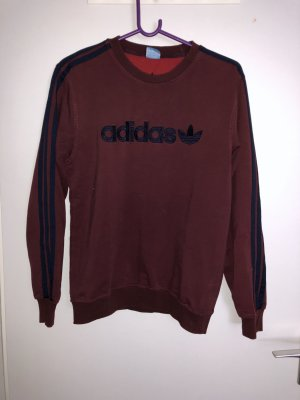 Weinroter Adidas Pullover