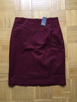 Esmara Pencil Skirt bordeaux