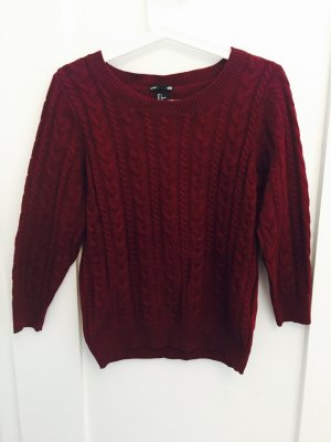 Weinroter H&M Pullover