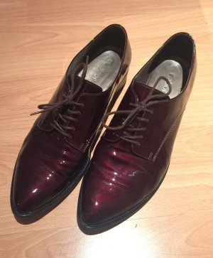 Gabor Zapatos brogue carmín