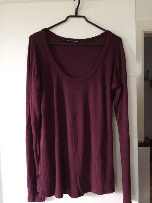 Weinroter Pullover Brandy&Melville