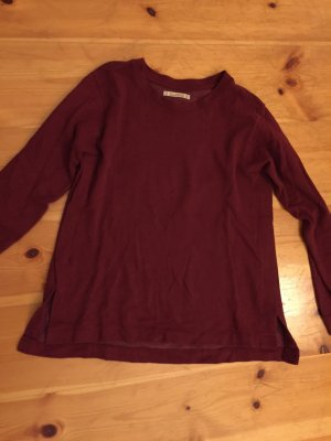 Weinroter Pullover Pull&Bear