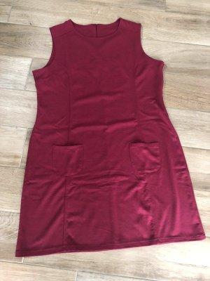 Weinrotes Kleid von Gina Benotti, Gr. L (44/46)