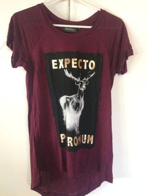 Weinrotes Shirt von Harry Potter
