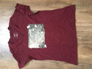Converse T-Shirt bordeaux