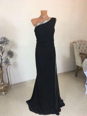 Weise Abendkleid Cocktailkleid Eventdress Gr. 50 schwarz
