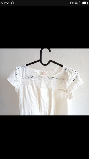 Lace Top white-natural white