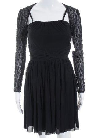Weise Cocktailkleid schwarz Elegant