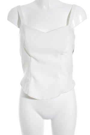 Weise Haut type corsage blanc cassé élégant