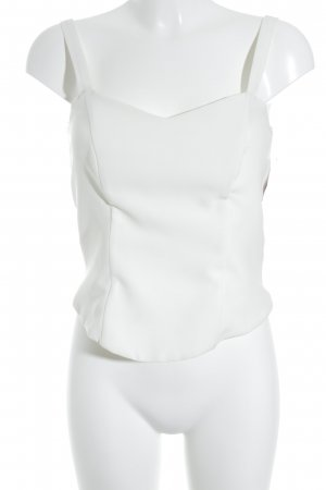 Weise Corpiño blanco puro elegante