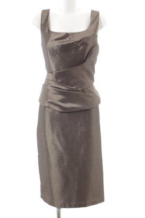 Weise Corsagenkleid hellbraun Elegant