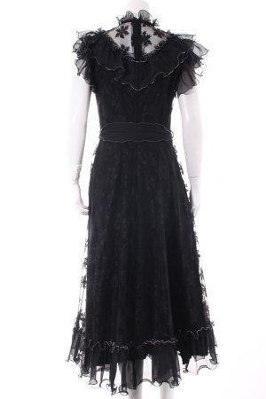 Weise Festmoden Abendkleid schwarz Elegant