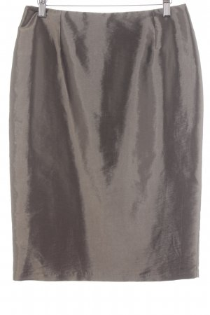 Weise Taffeta Skirt grey brown elegant