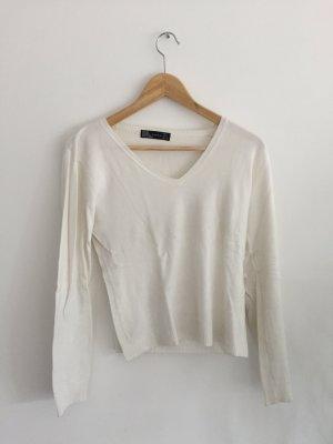 Weiser Pullover von zara